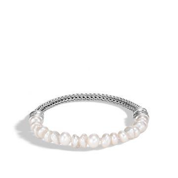 John Hardy Silver Classic Chain Women's Gemstone Bead Bracelet