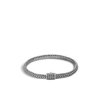 John Hardy Silver Classic Chain Women's Woven Bracelet