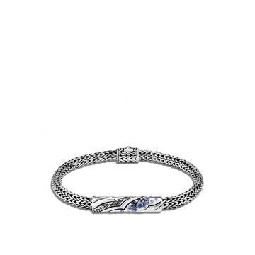 John Hardy Silver Lahar Women's Gemstone Station Bracelet