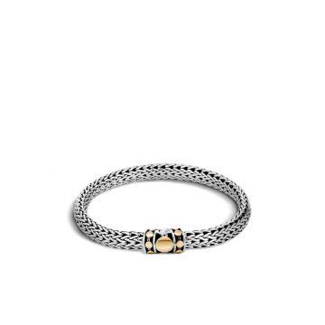 John Hardy Silver & Gold Dot Women's Woven Bracelet