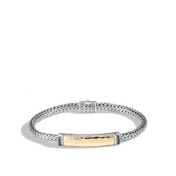 John Hardy Silver & Gold Classic Chain Women's Gemstone Station Bracelet