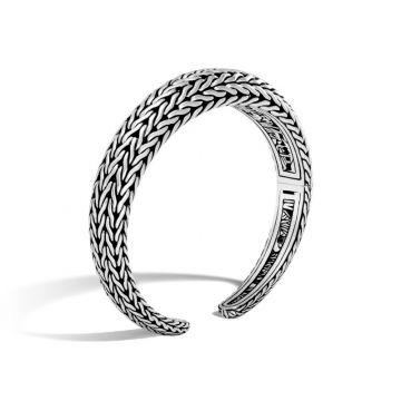 John Hardy Silver Classic Chain Women's Cuff Bracelet