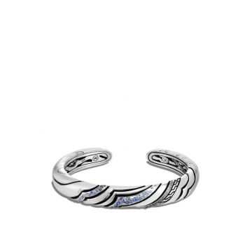 John Hardy Silver Lahar Women's Gemstone Cuff Bracelet