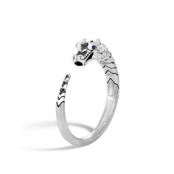 John Hardy Silver Legends Naga Women's Gemstone Cuff Bracelet