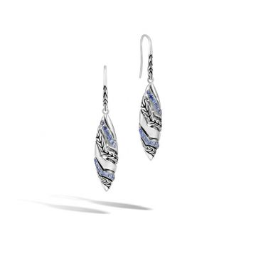 John Hardy Silver Lahar Women's Gemstone Drop Earrings