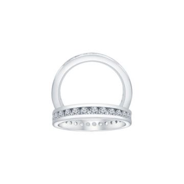 ALTR Sterling Silver Eternity Wedding Band
