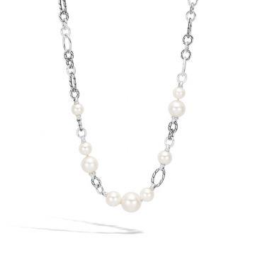 John Hardy Silver Classic Chain Women's Gemstone Necklace