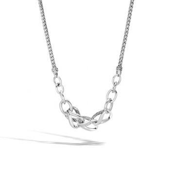 John Hardy Silver Classic Chain Women's Necklace