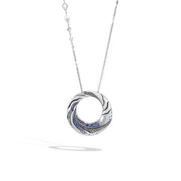 John Hardy Silver Lahar Women's Gemstone Pendant