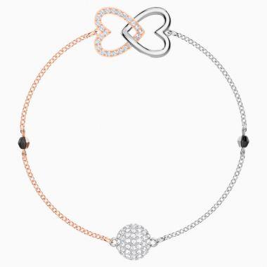 Swarovski Two Tone Crystal Bracelet