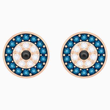 Swarovski Rose Tone Crystal Earrings