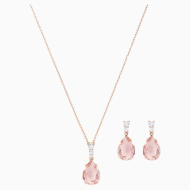 Swarovski Rose Tone Crystal Gift Set