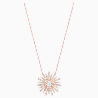 Swarovski Rose Tone Necklace