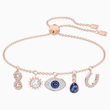 Swarovski Rose Tone Crystal Bracelet
