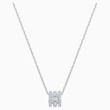 Swarovski Silver Tone Crystal Pendant