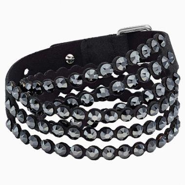 Swarovski Black Crystal Bracelet