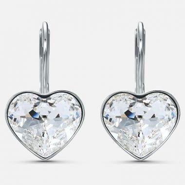Swarovski Silver Tone Crystal Earrings