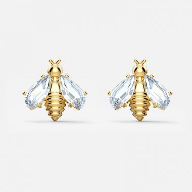Swarovski Yellow Earrings
