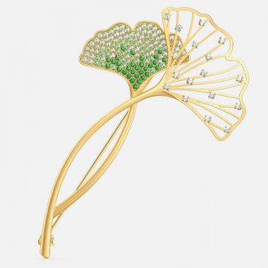 Swarovski Yellow Brooche