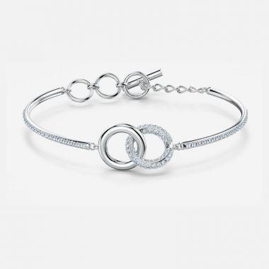 Swarovski Silver Tone Crystal Bracelet