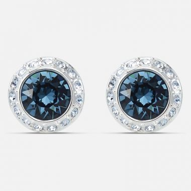 Swarovski Silver Tone Earrings