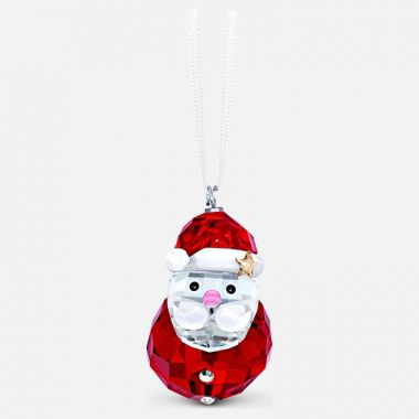 Swarovski Rocking Santa Claus Ornament