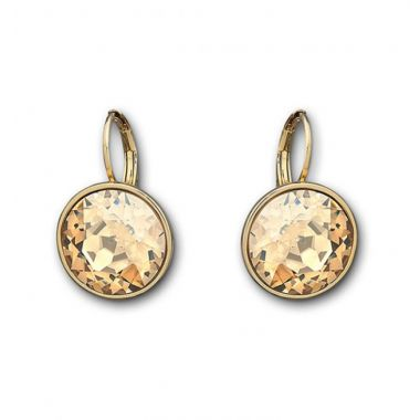 Swarovski Yellow Crystal Earrings