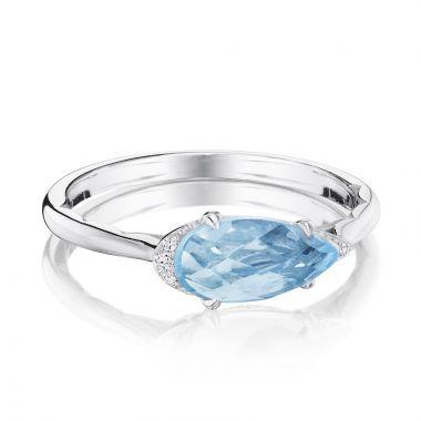 Tacori Sterling Silver Horizon Shine Diamond and Gemstone Women's Ring