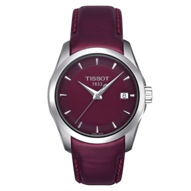 Tissot Stainless Steel T-Classic Women's Leather Watch